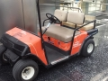 Orange-Golf-cart